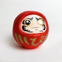 ぴえんだるま(粘土)