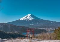 富士山がすっごくきれいに見える!