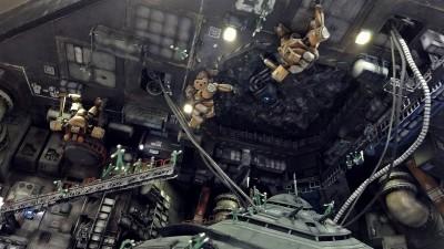 決戦-Decisive battle- 宇宙要塞ソロモン 制作・画像提供/まんねん工房氏 (C)創通・サンライズ