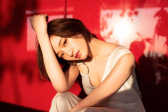 写真集『好きなことだけをしていたい』先行カット 撮影:桑島智輝 光文社刊