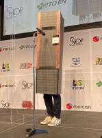 渋谷クワトロの柱