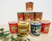 8月に発売したカップ商品『じゃがネル』と『トロリ〜ズ』