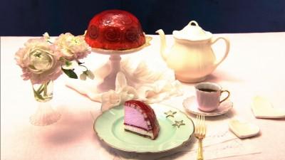 『おジャ魔女どれみ』に登場するケーキ「愛しのトゥルビヨン」(C)NHK