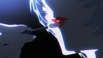 KATE×エヴァンゲリオン「綾波レイ、はじめての口紅」篇(C)カラー