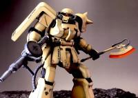 0083のキンバライト基地部隊のF2ザク