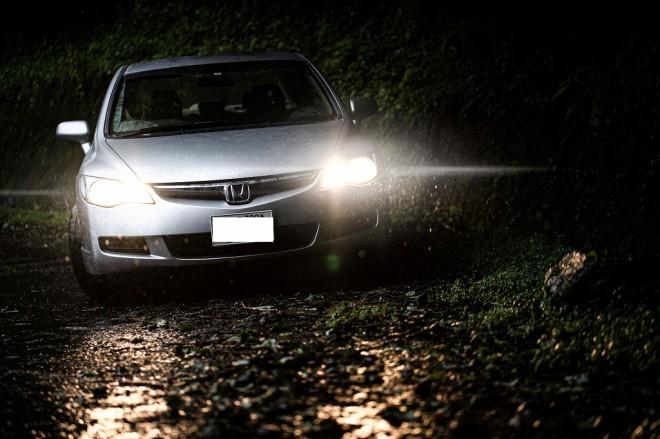 """豊かな自然を生かした車が""""映える""""写真を撮影 撮影・画像提供/オートサロンイイダ"""