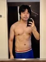 12キロの減量に成功したダイエット後の市川ヒロシ氏(84キロ)