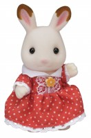 """""""シルバニアの顔""""ショコラウサギのフレアちゃん(画像提供:エポック社)"""