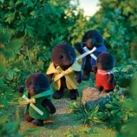 「みんなのお家に地下室を」村長選立候補したモグラの男の子・マディくん(画像提供:エポック社)