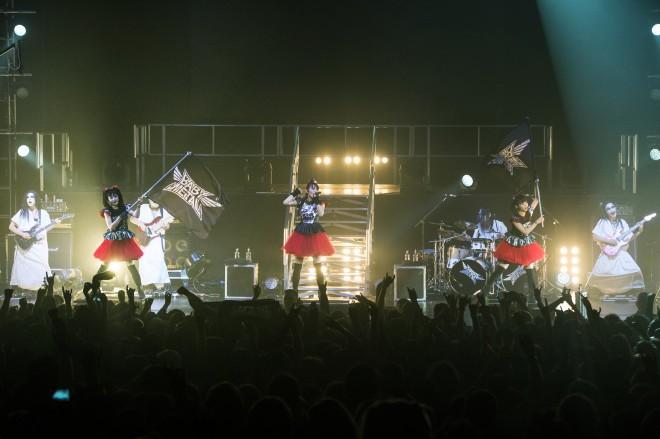 2014年11月8日に開催された「BABYMETAL BACK TO THE USA_UK TOUR 2014」(O2アカデミー・ブリクストン)