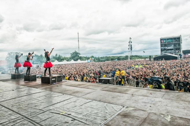 2014年7月5日に行われた「Sonisphere Festival UK」(Knebworth Park)