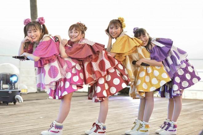 メジャーデビュー10周年を迎えたももいろクローバーZ Photo by 高田真希子