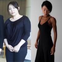 【ダイエットビフォーアフター】45キロ減量に成功した鬼maki 眞希さん