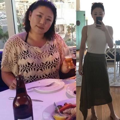 45キロの減量に成功した鬼maki 眞希さん