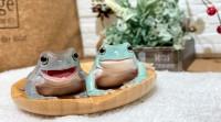 本当に本物のカエル!?カエル嫌いも思わず「かわいい」と見入ったカエルたち