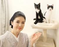 藤さんとマルオレちゃん(画像提供:藤あや子さんTwitterより)