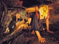 【栃木県】足尾銅山観光 トロッコに乗りつつ蝋人形を愛で感慨に浸る