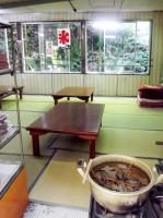 【埼玉県】黒山三滝 三滝みやげ みやげ物屋の奥には座敷も