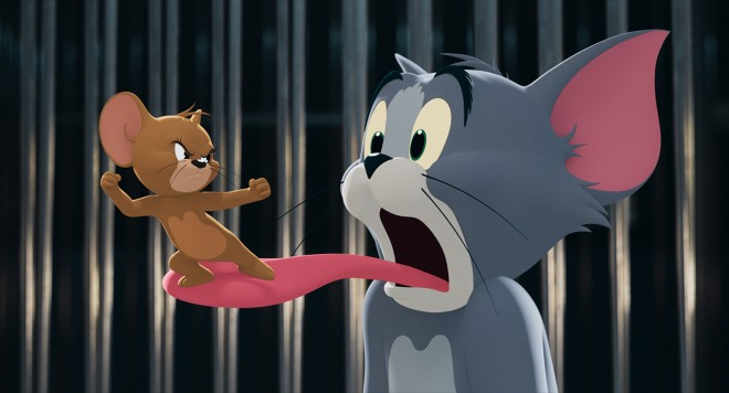 19日に公開される実写映画『トムとジェリー』 (C)2020 Warner Bros. All Rights Reserved.