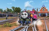 みなみインドから来た女の子機関車「アシマ」。楽しく元気なキャラクター