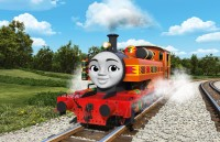 アフリカ・ケニア出身の女の子タンク機関車「ニア」。素直でよく考えて行動するタイプ