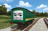 中国の鉄道で働く男の子の客車「インロン」。女の子のアンアンと双子