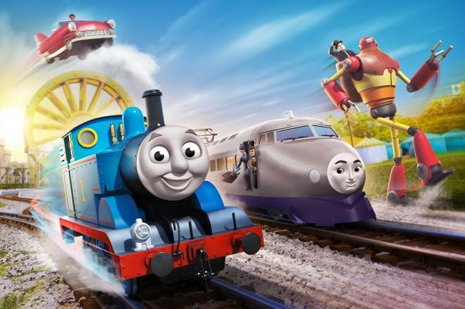 『映画 きかんしゃトーマス おいでよ!未来の発明ショー!』 (C)2021 Gullane(Thomas)Limited.