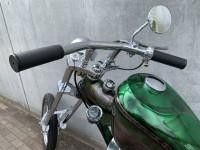 『YOKOHAMA HOT ROD CUSTOM SHOW』に出展したカスタムSR400 製作・画像提供/2%ER