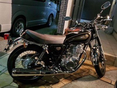 YAMAHA SR400 Final Edition Limited 画像提供/ほのくろ氏