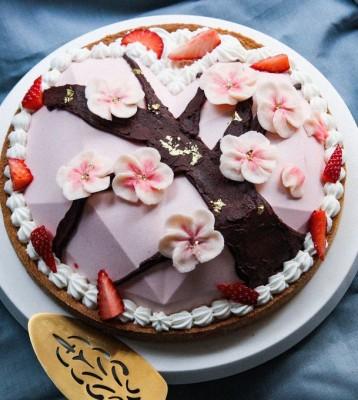 Soyonさんが17歳の誕生日に作ったバースデーケーキ