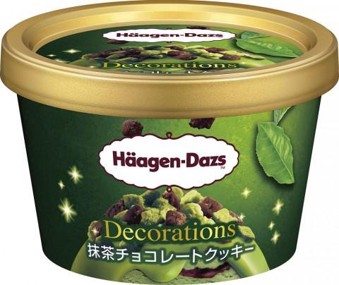 『ハーゲンダッツアイスクリーム』ミニカップ Decorations(デコレーションズ)抹茶チョコレートクッキー