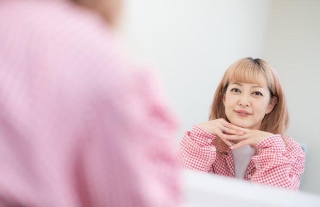 松嶋尚美 撮影/田中達晃(パッシュ)(C)oricon ME inc.