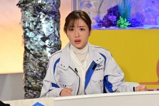 石原さとみが演じる渚海音 (C)日本テレビ