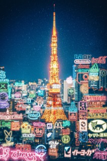 Cyberpunk Tokyo〜東京タワー〜(画像提供:YULILYさん)