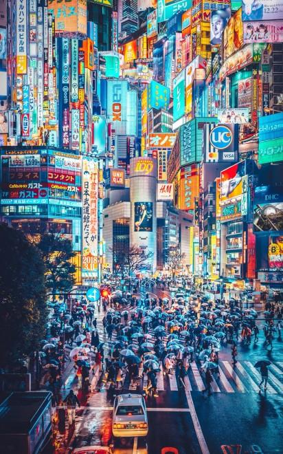 MEGA TOKYO  2049年 渋谷妄想図(画像提供:YULILYさん)