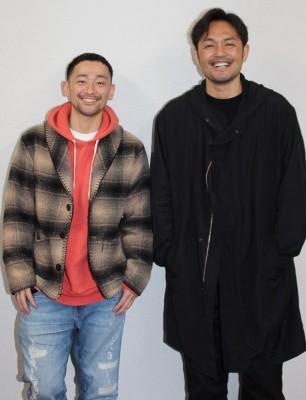 取材中は穏やかな笑顔を見せてくれた純悪の2人(C)oricon ME inc.