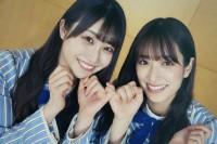 オフショット写真集『日向撮VOL.01』を発売した日向坂46(左から)潮紗理菜、佐々木久美