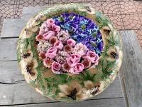 YOASOBI『夜を駆ける』を表現した花手水