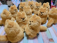 これまで1500体販売された人気作「クオッカちゃん」、一つずつ手縫いで制作されている