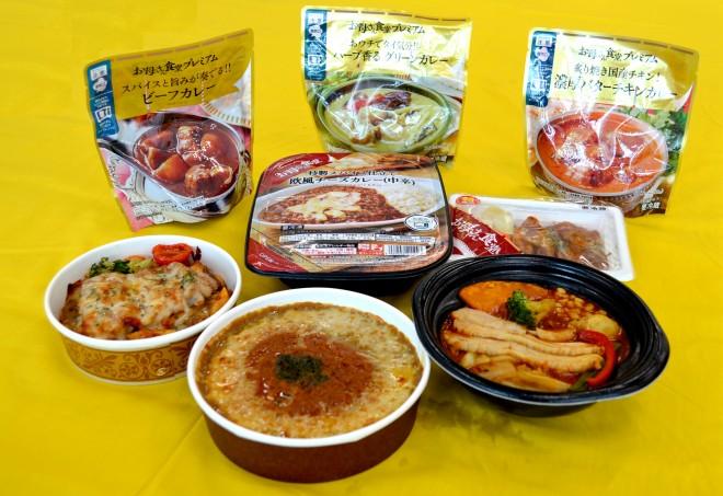 『ファミマ 夏のカレー祭り』お母さん食堂シリーズ(ファミリーマート)