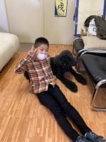 今年4月、数年ぶりの再会を果たしたミカ(11歳)とT君(9歳)