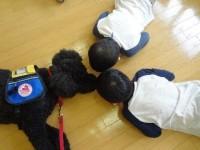 小児病棟でAAA いつも子供たちが集まります