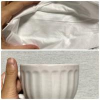 rom&nd マスクとコーヒーカップでも検証