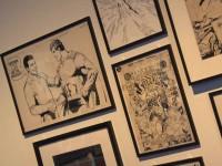 「スーパーマン」コミックの原画