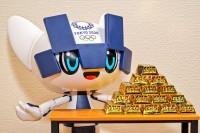「こんなに金メダルが続くと金が足りなくならない?」(すえきちさん/@suekichiii)