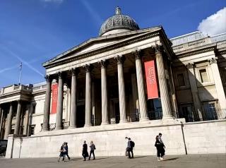 ロンドン・ナショナル・ギャラリー※ツアー中のスクリーンショット(C)ミキ・ツーリスト