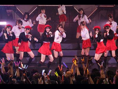 SKE48赤組(10月5日、名古屋・Zepp Nagoya 公演)