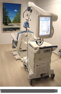 同院の磁気刺激治療(TMS)処置室