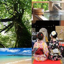 現役学生は温泉や大自然の中で過ごしたり、着物で京都の街をブラリと歩いたり…気分転換できるゆったり旅に憧れが