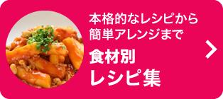 本格的なレシピから簡単アレンジまで食材別レシピ集